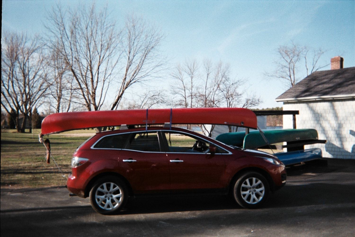 Carrying A Canoe On A 2010 Ob Page 2 Subaru Outback