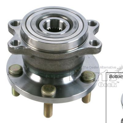 Oem Vs Moog Hub And Wheel Bearing Assembly Rear Page