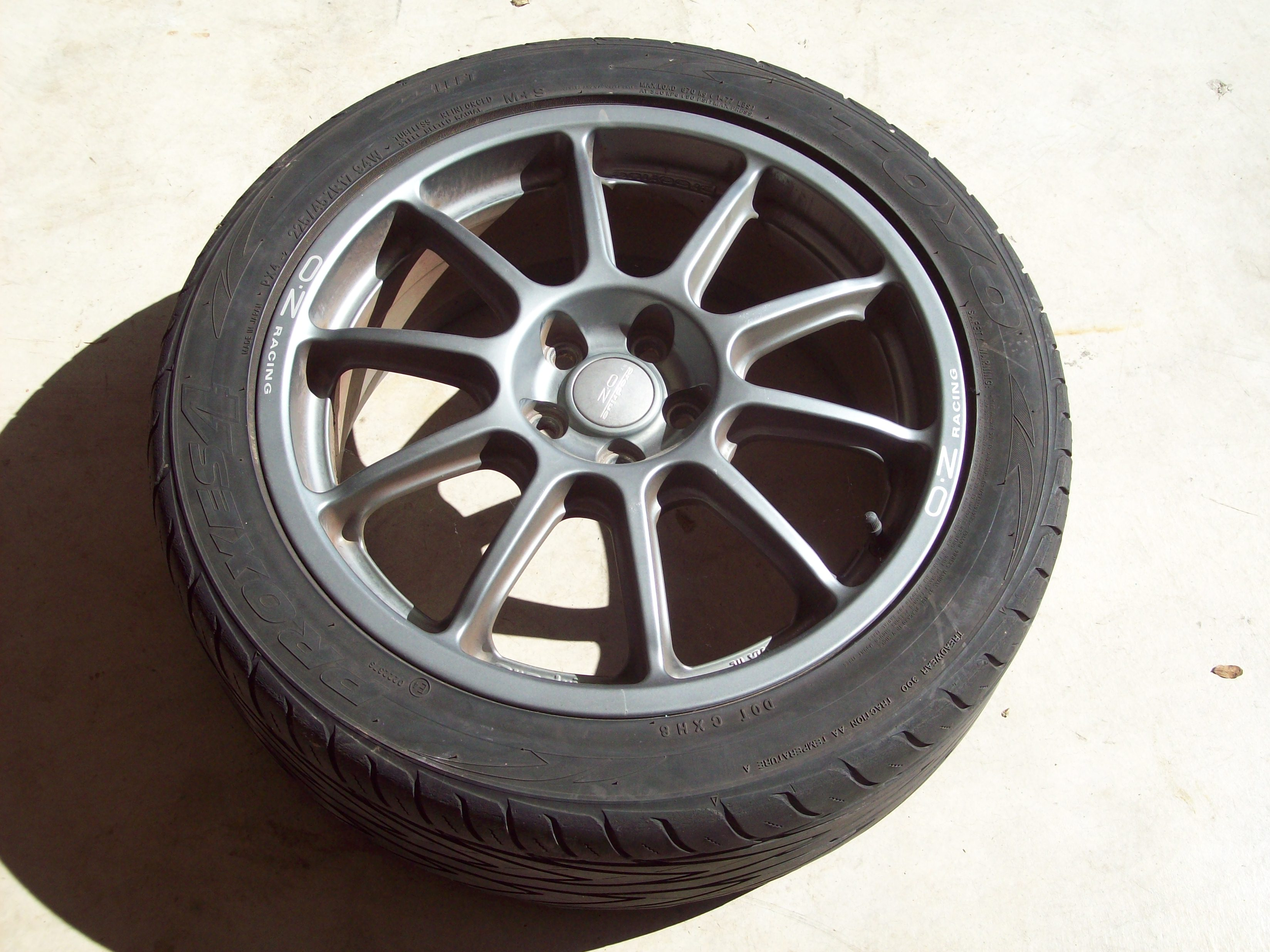 Oz Prodrive Wheels Subaru Outback