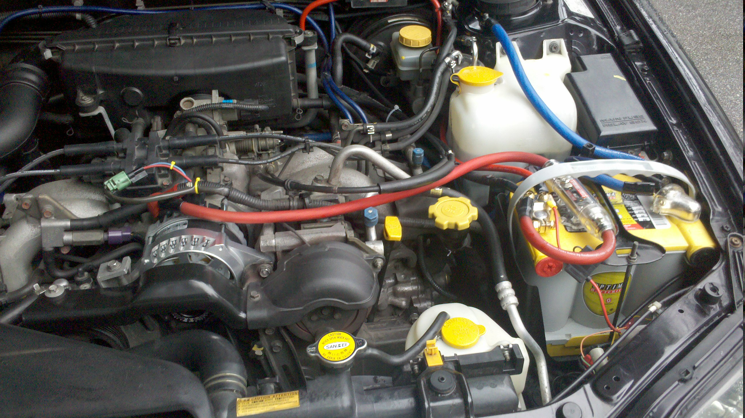 installed high output alternator subaru outback subaru outback rh subaruoutback org high output alternator wiring kit high amp alternator wiring kit