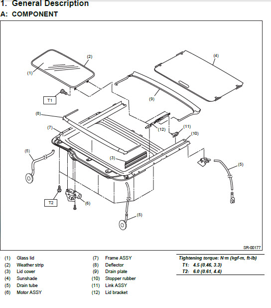 Subaru Outback Sunroof Diagram Diy Enthusiasts Wiring Diagrams