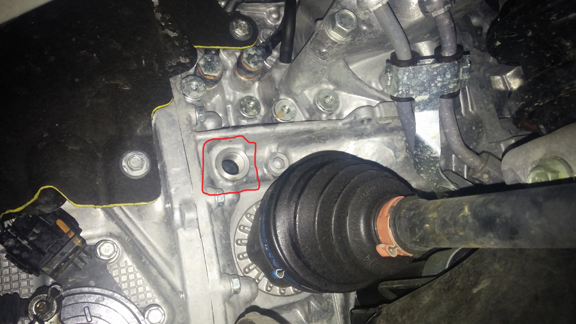 subaru forester front differential fluid change