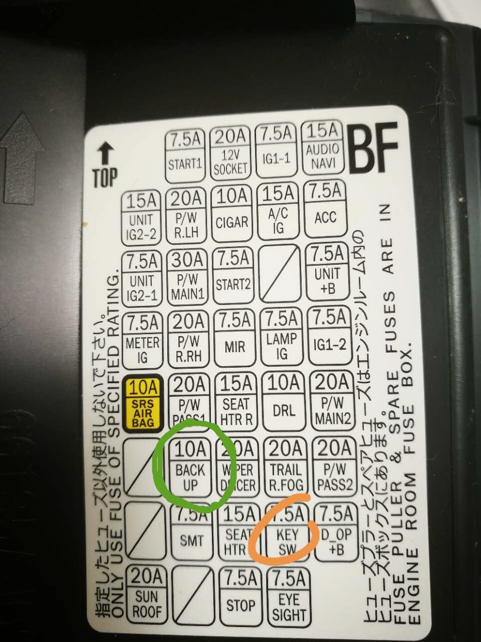[DIAGRAM_38ZD]  2015 subaru outback fuse box diagram | Subaru Outback Forums | 2015 Subaru Sti Fuse Diagram |  | Subaru Outback.org