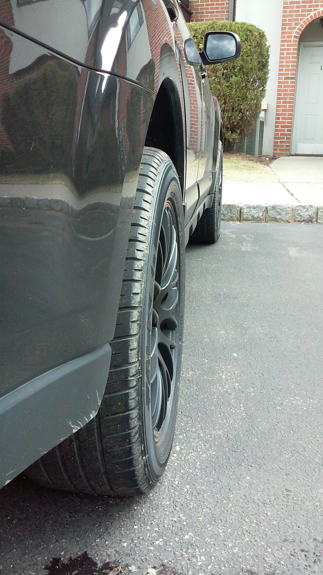 Best tire size for 18x8 wheels - Subaru Outback - Subaru Outback ...