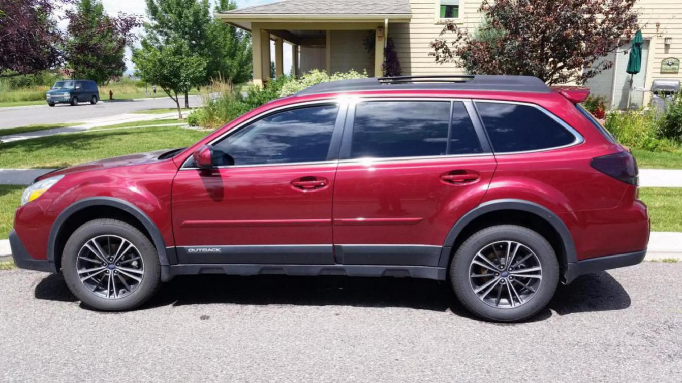 Installed the roof spoiler today subaru outback subaru outback click image for larger version name 201507231352411437684848636g views 1380 size 1636 vanachro Image collections
