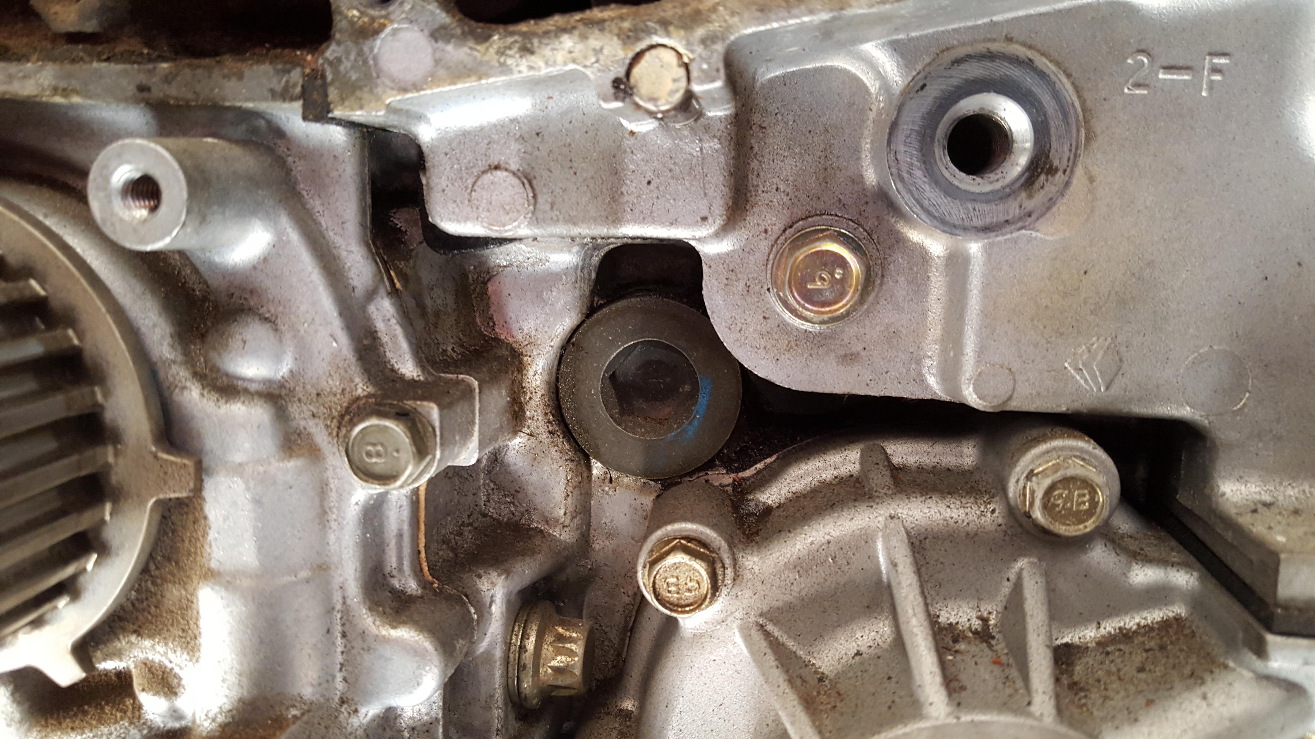 D Oil Leak Above Timing Cover Under Alternator
