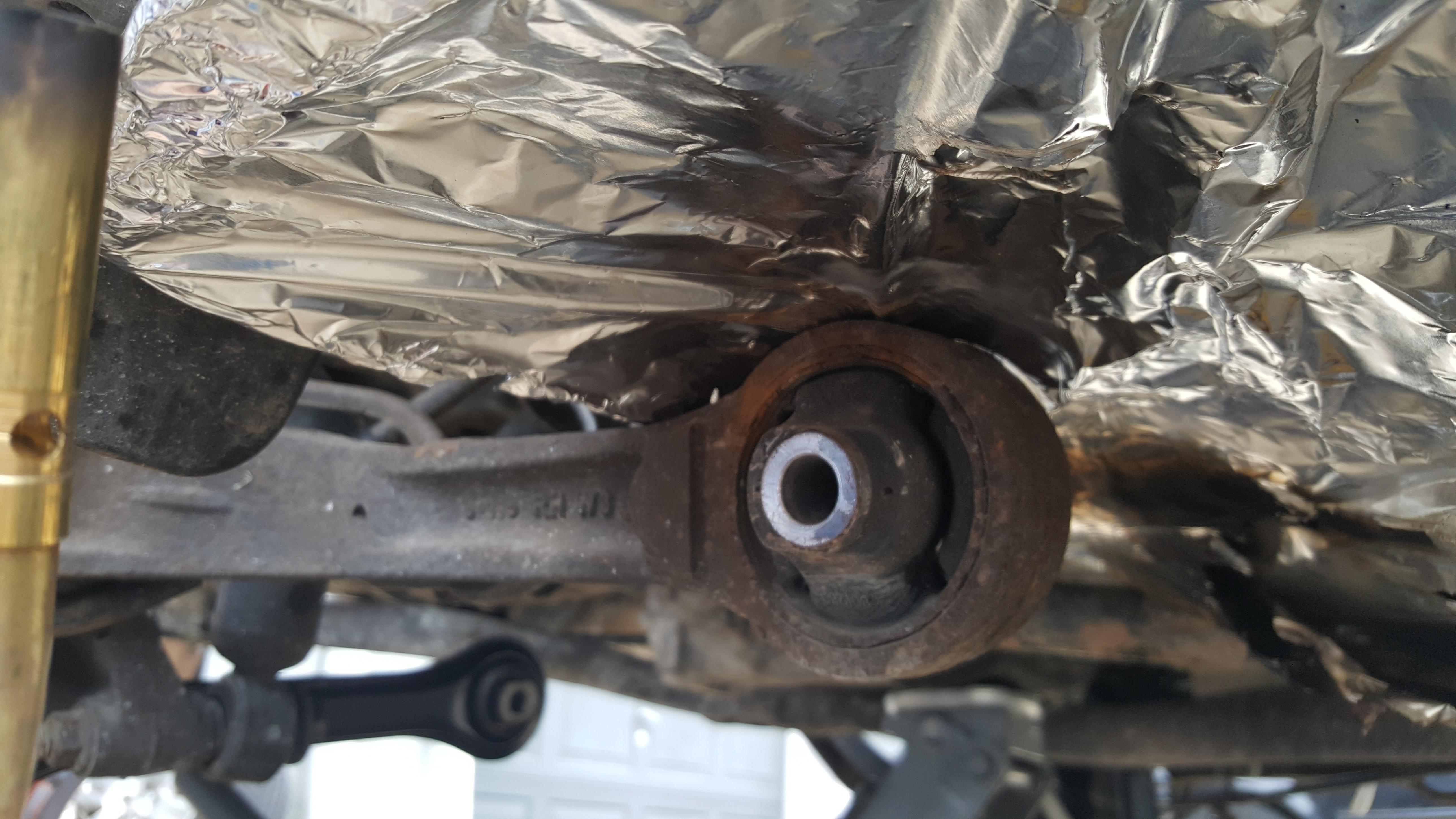 Trailing Arm Bushing Replacement Advice Needed Subaru
