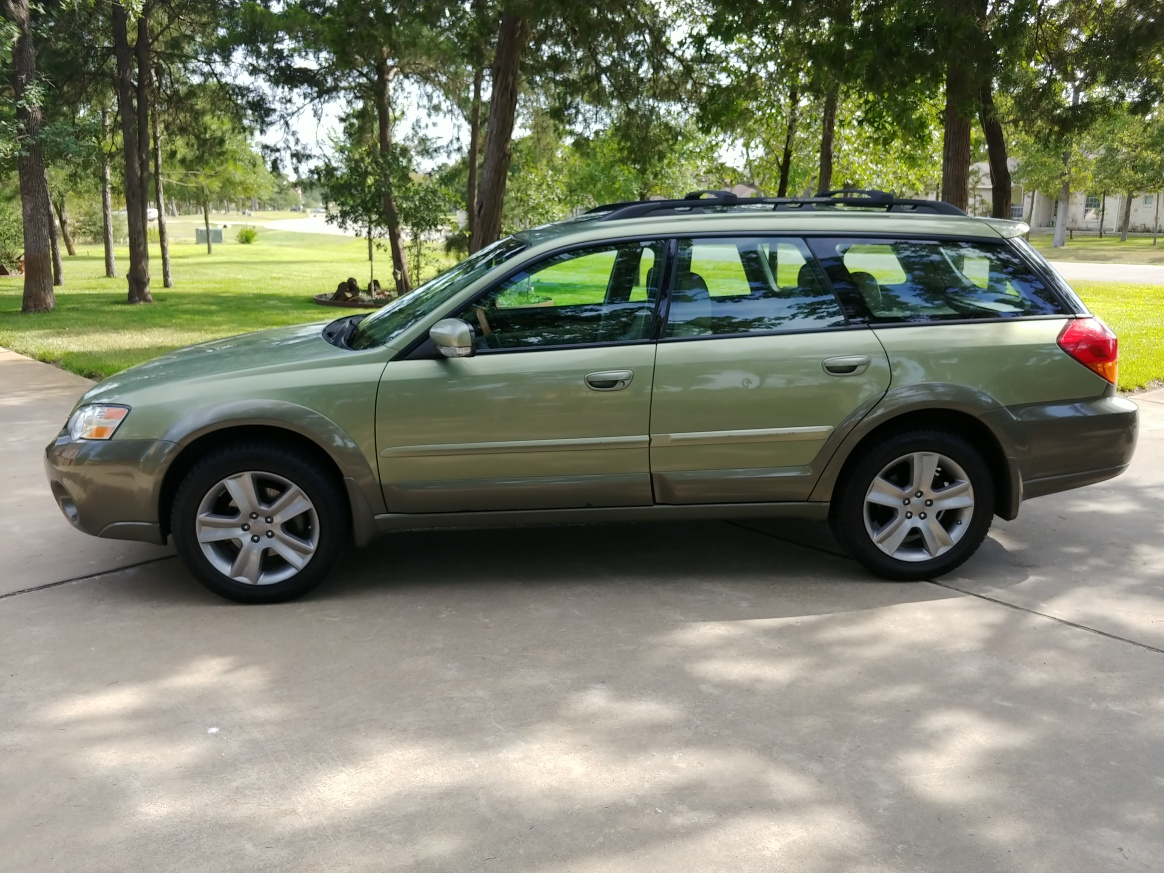 Pulled The Trigger 2006 Outback Ll Bean Subaru Outback