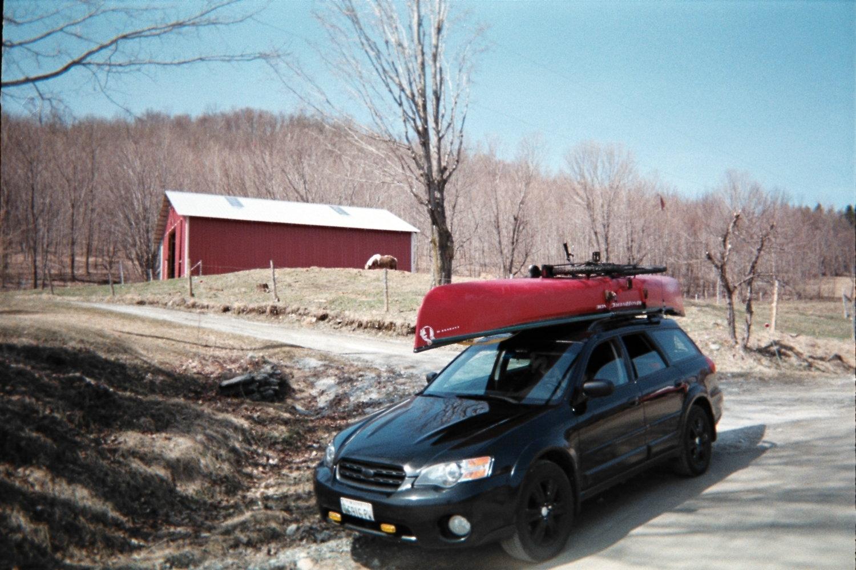 Carrying A Canoe On A 2010 Ob Subaru Outback Subaru