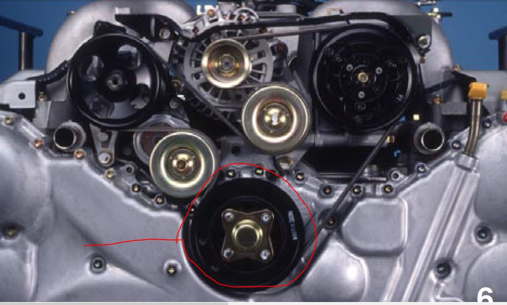 Serpentine Belt Replacement 2001 H6 300 Subaru Outback Rh Subaruoutback Org 2005 Forester: Diagram Of 1997 2 5l Subaru Engine At Visitlittlerock.org