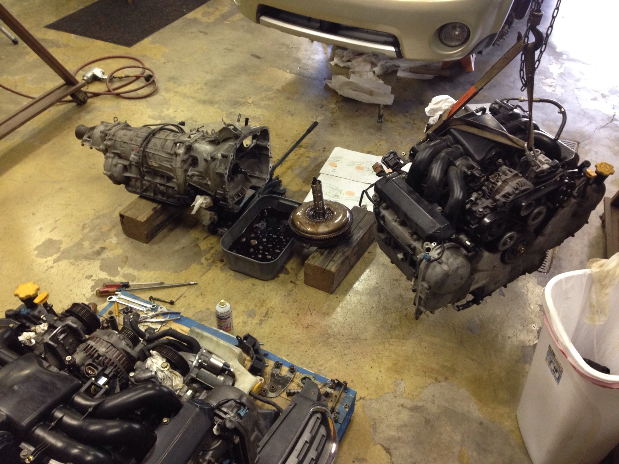 H6 EZ30R JDM engine swap | Subaru Outback Forums