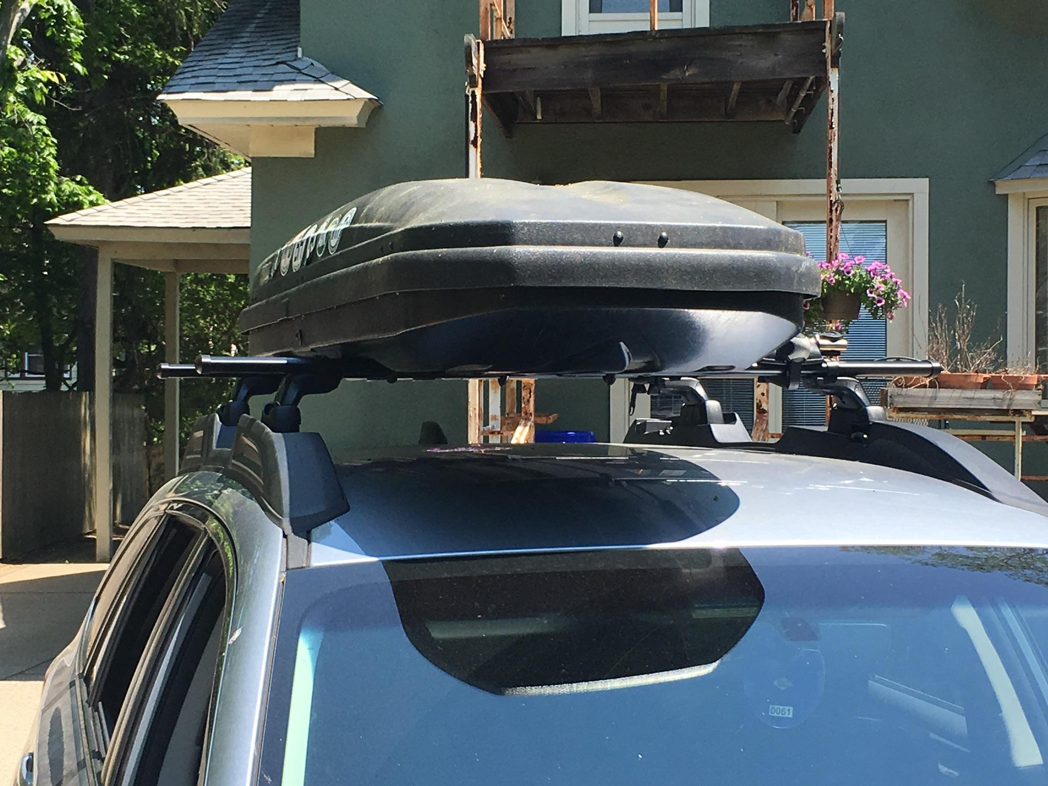Cargo Roof Rack And Cross Bars Subaru Outback Subaru