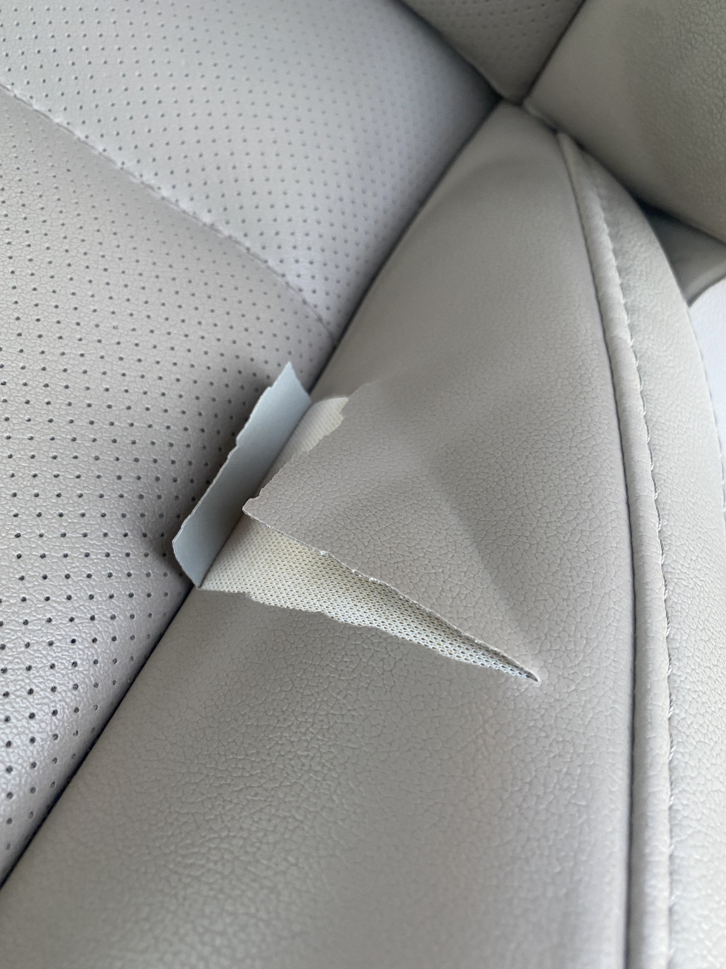 2017 Leather Seats Coming Apart Subaru Outback Forums