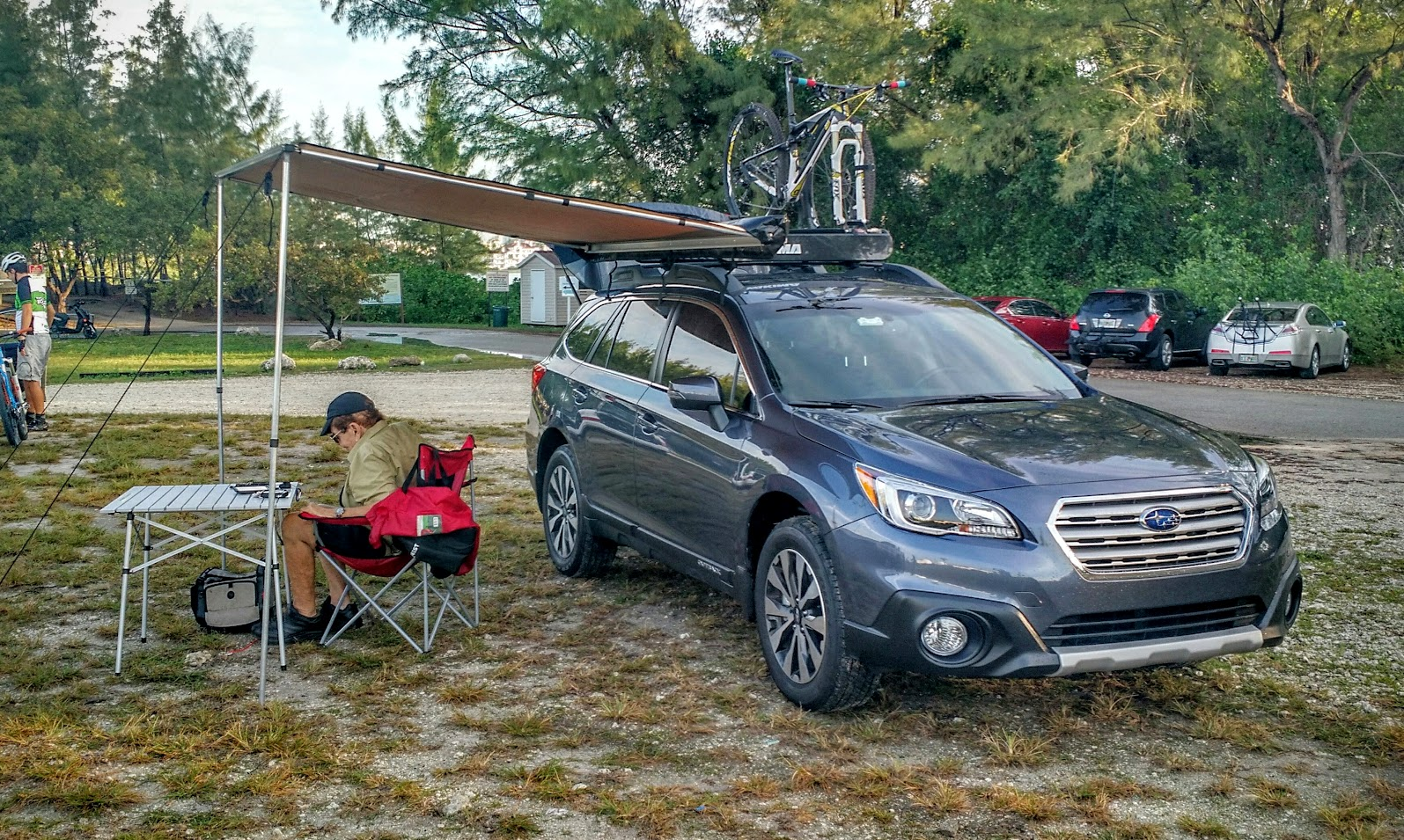 Click image for larger version Name _20160110_112912.JPG Views 6974 Size 614.2 & Roof rack awning - Subaru Outback - Subaru Outback Forums