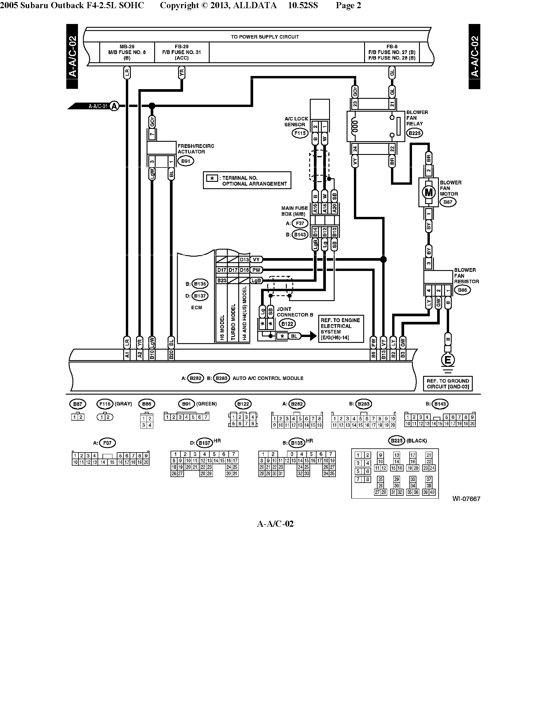 05 H6 A C Compressor Cluth Relay Not Getting 12v Subaru Outback 12 Volt Wiring Diagram Click Image For Larger Version Name Ace 0 Page 2 Views 362 Size