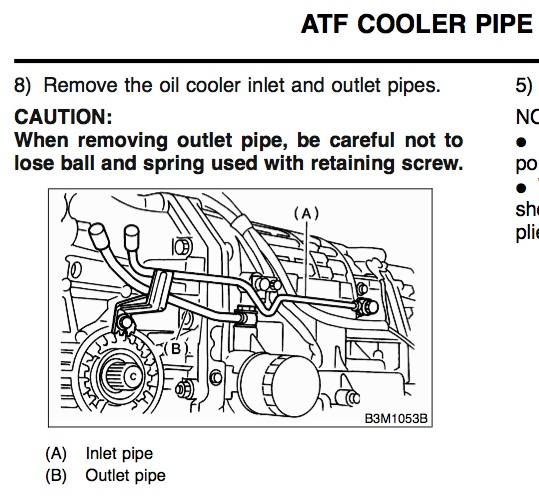 Simple Question About At Fluid Cooler Flow Subaru Outback Forums