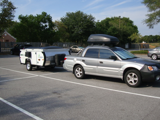 What is the towing capacity of a subaru outback