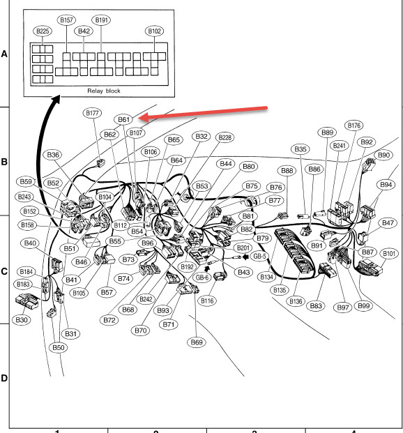 Need 2001 Outback Wiring Diagram - SBF4 ckt - Page 2 ...