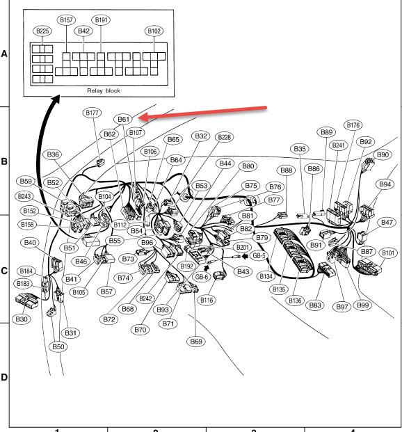 Subaru Engine Wiring Harness Routing Diagram • Wiring