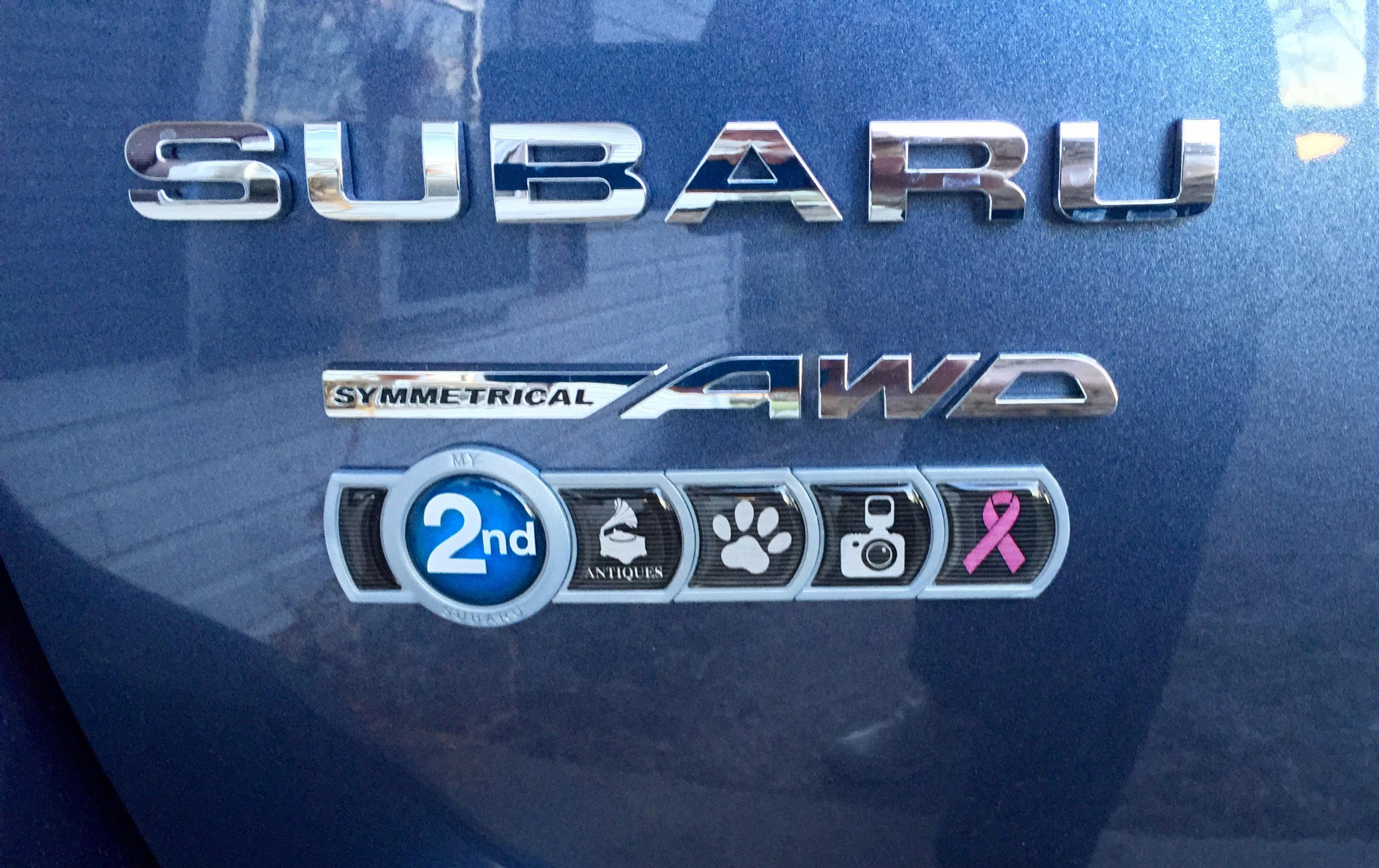 Subaru Badge Of Ownership >> Badge Of Ownership Do You Have One Subaru Outback Subaru