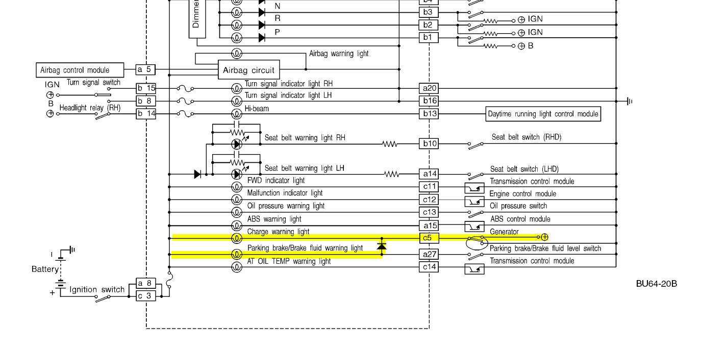 check engine   brake  battery lights  above 2 25 krpm  - page 2 - subaru outback