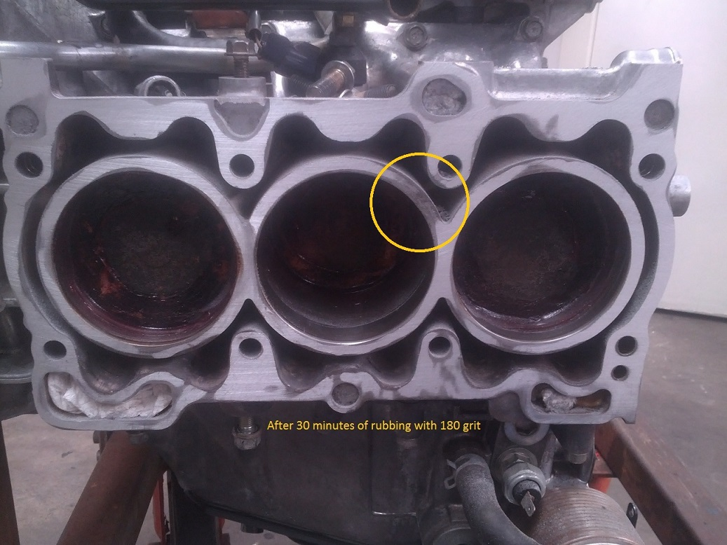 2002 Outback H6 Block Problem Causes Head Gasket Failure
