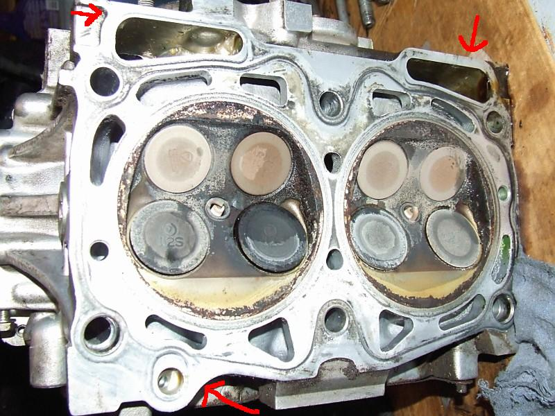Head Gasket Leak >> Oil Leak From Head Gaskets Subaru Outback Forums
