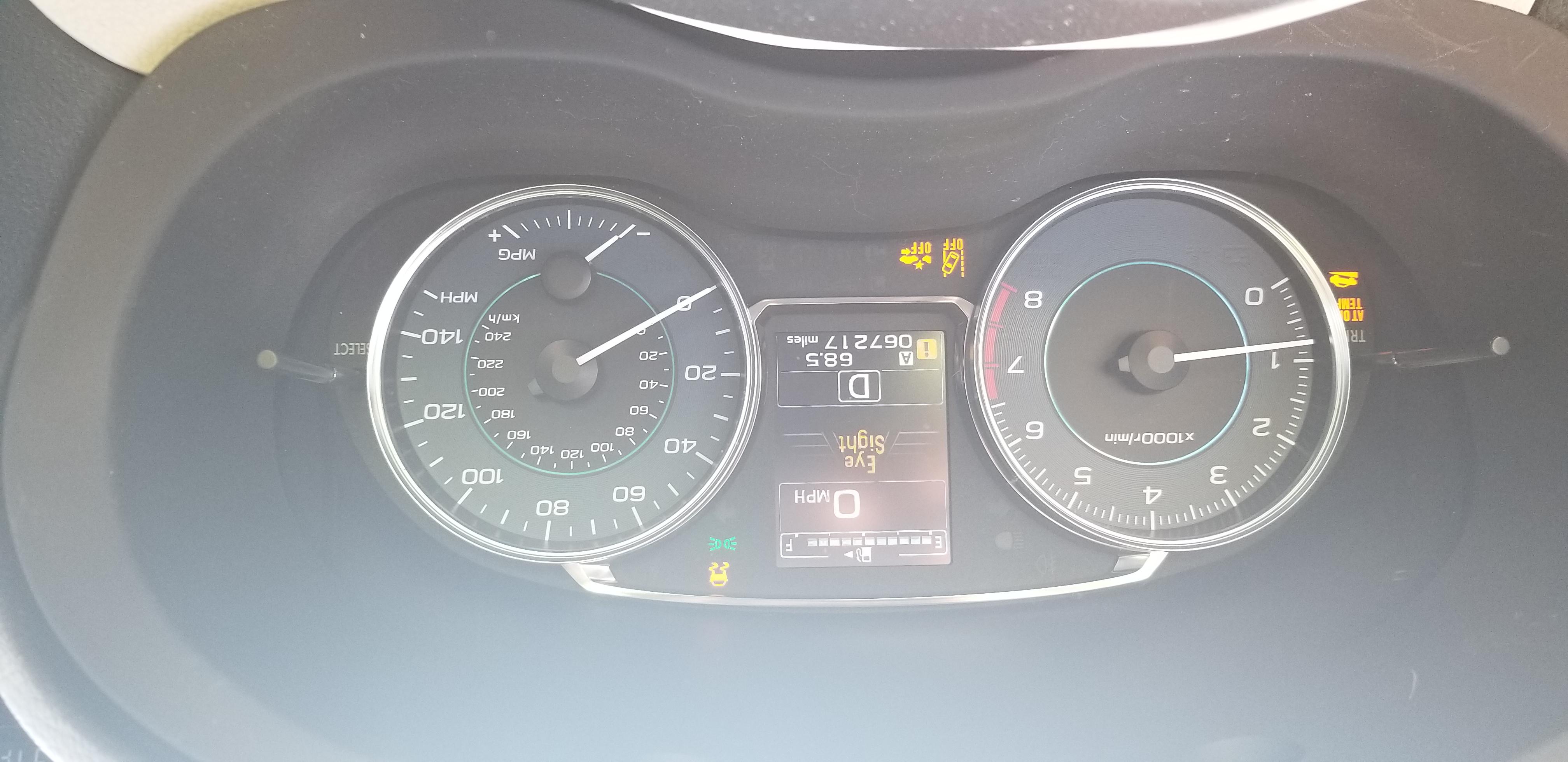 Blinking Tire Pressure Light Subaru Forester