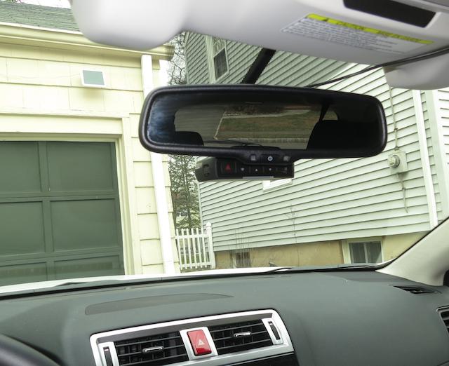 Dashcam Installation With Eyesight Subaru Outback