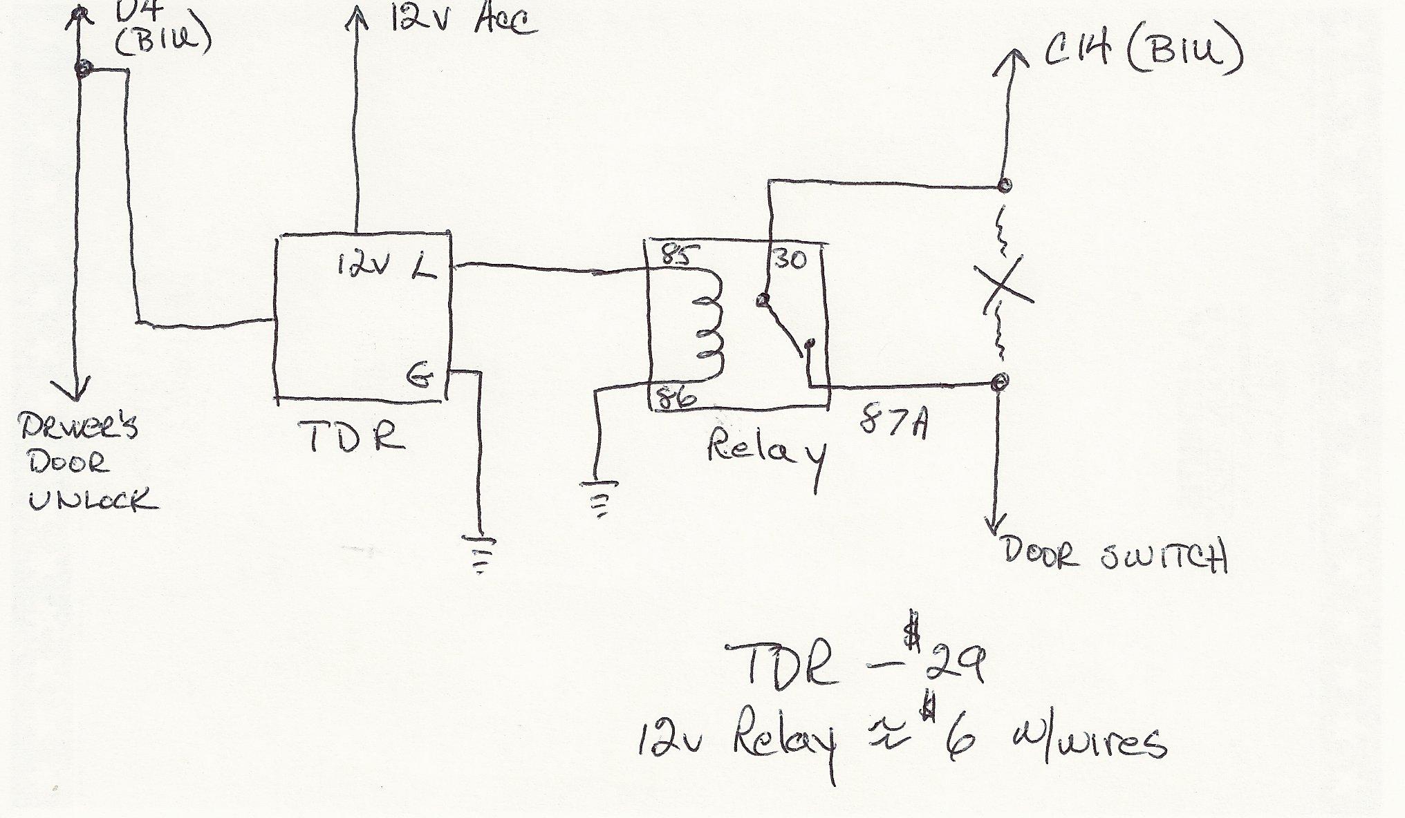 Click image for larger version Name: Door Switch Ckt.JPG Views: 3507 Size
