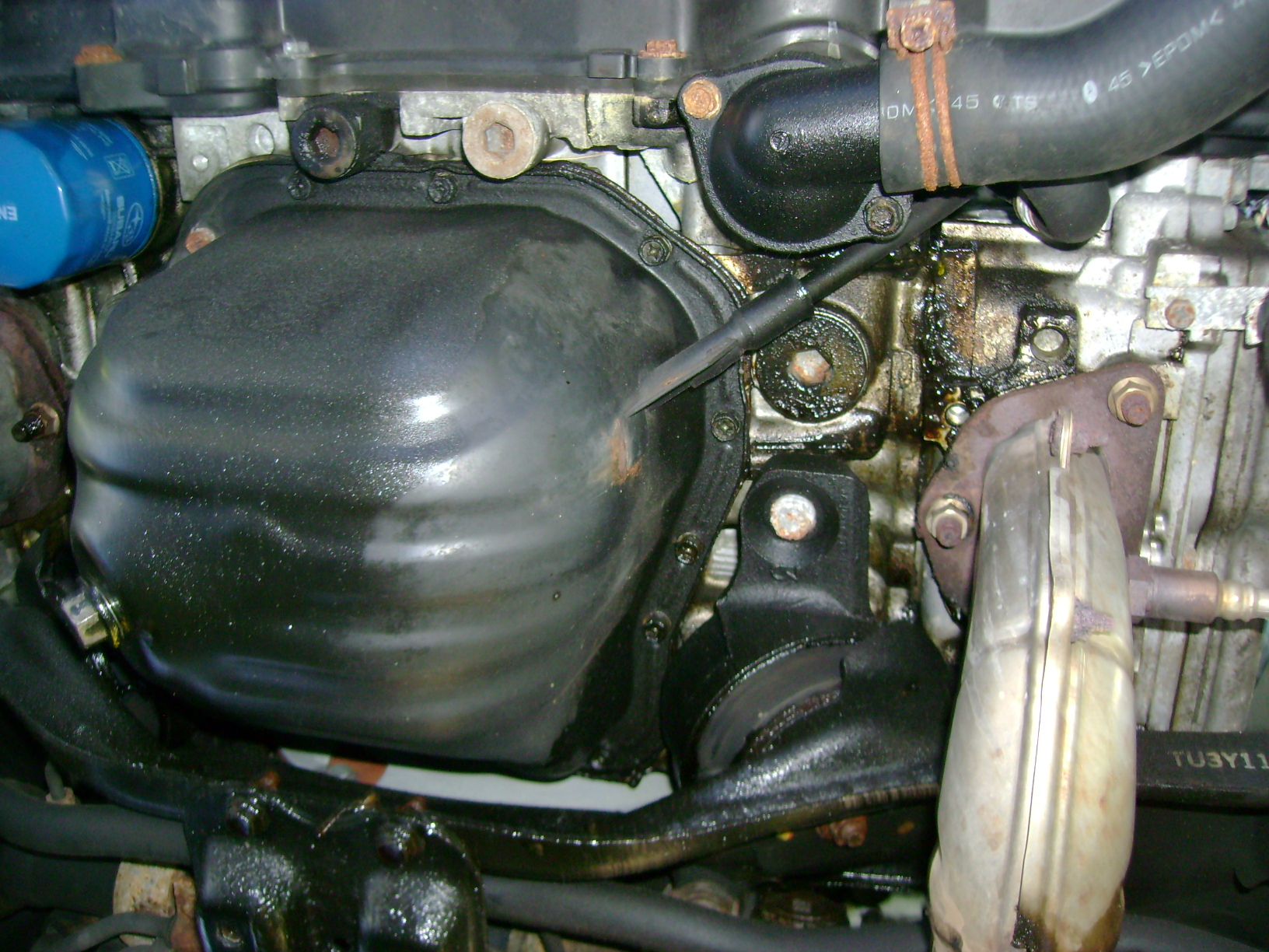 Please help with my oil leak - photos!! - Subaru Outback - Subaru ...