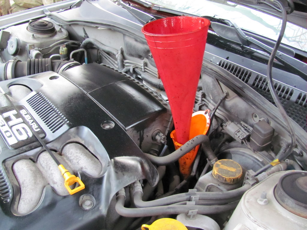 changing automatic transmission fluid is easy page 30
