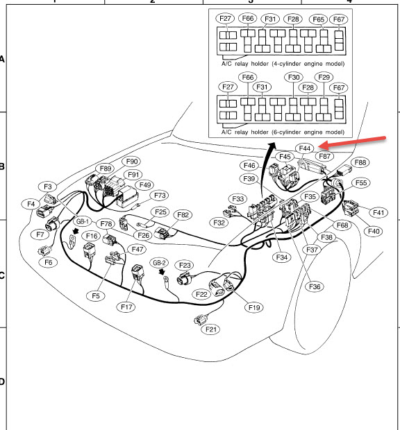 Subaru Engine Wiring Harness Rework Diagram For Free