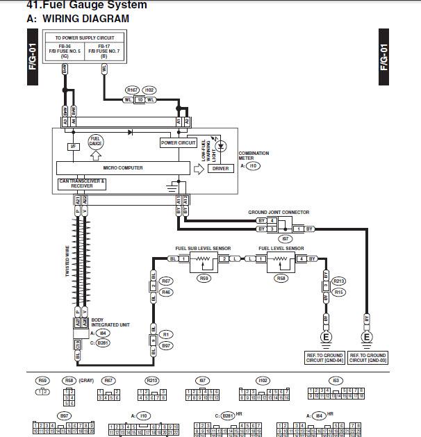 fuel level sensor wiring diagram best part of wiring diagramfuel guage won\\u0027t go past half way mark subaru outback subaruclick image for larger