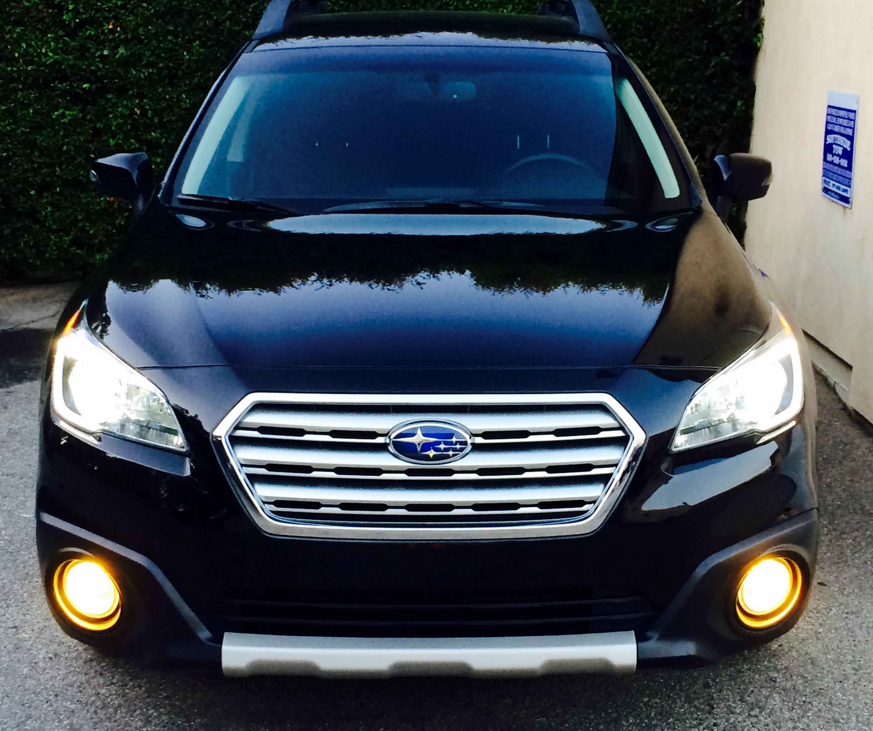 2015 Outback Mods