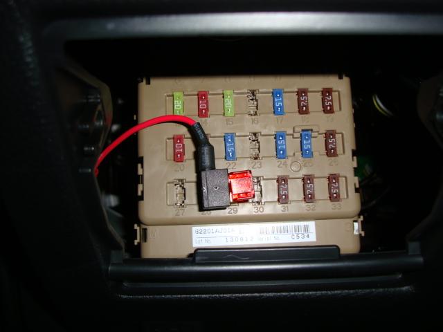 Constant Lighter Power - Subaru Outback - Subaru Outback ...