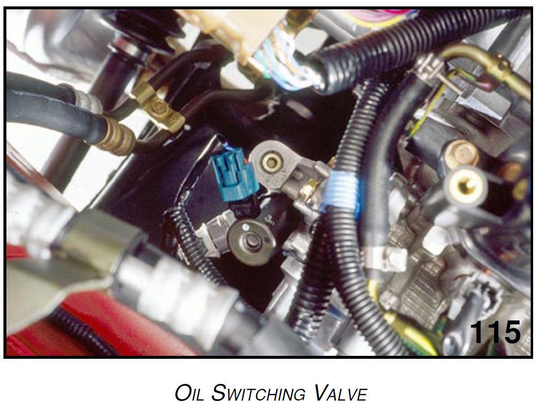 D H Sedan Cel P H Vvl Oil Switching Valve