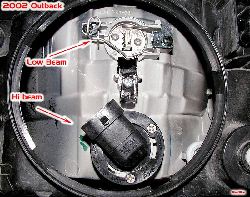 Broken Bulb Retaining Clip Assembly Help Subaru Outback Forums