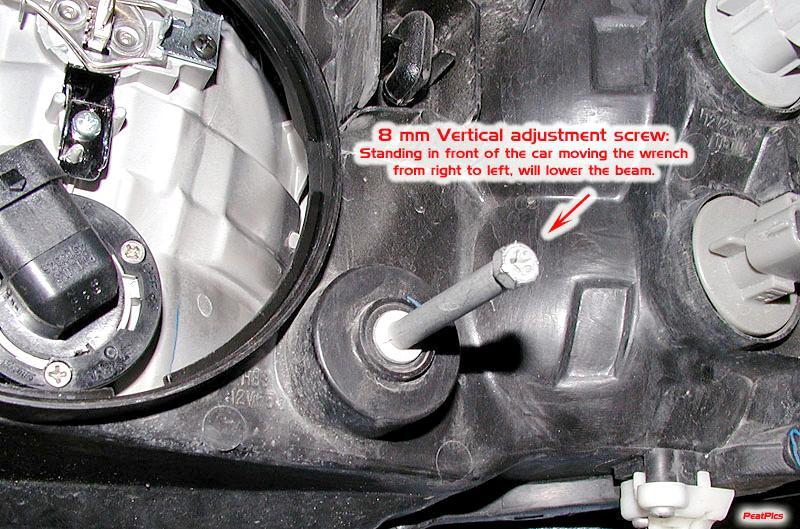 Where Do You Adjust The Headlights Subaru Outback