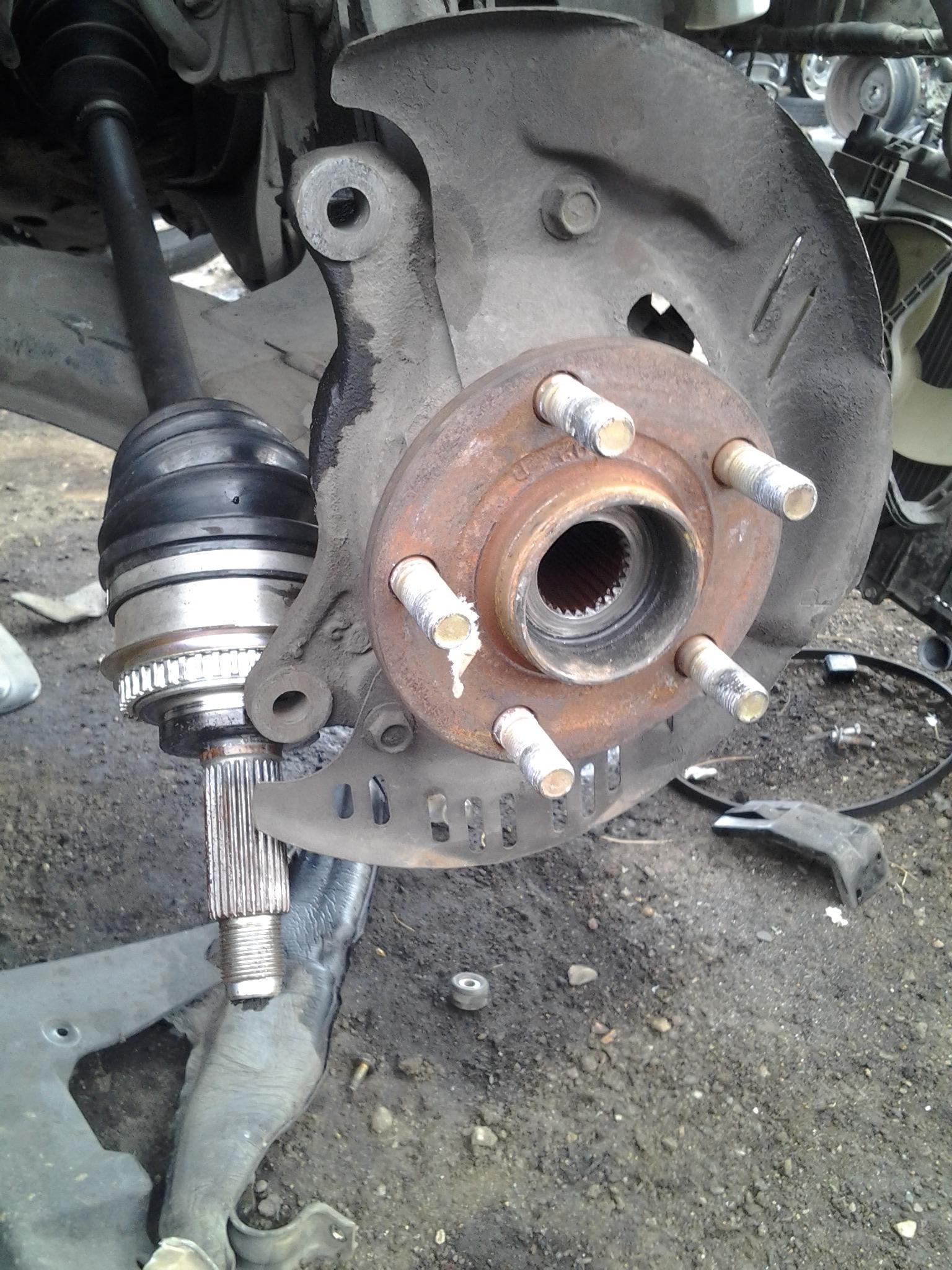 Subaru Salt Lake City >> How to remove wheel hub (2000 Outback) - Subaru Outback ...