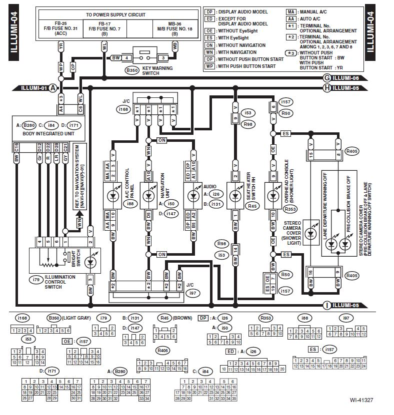 [SCHEMATICS_4HG]  Tapping Into Illumination Control Switch (Dimmer) for Aftermarket Gauge  Dimming | Subaru Outback Forums | Ics Wiring Diagram |  | Subaru Outback.org