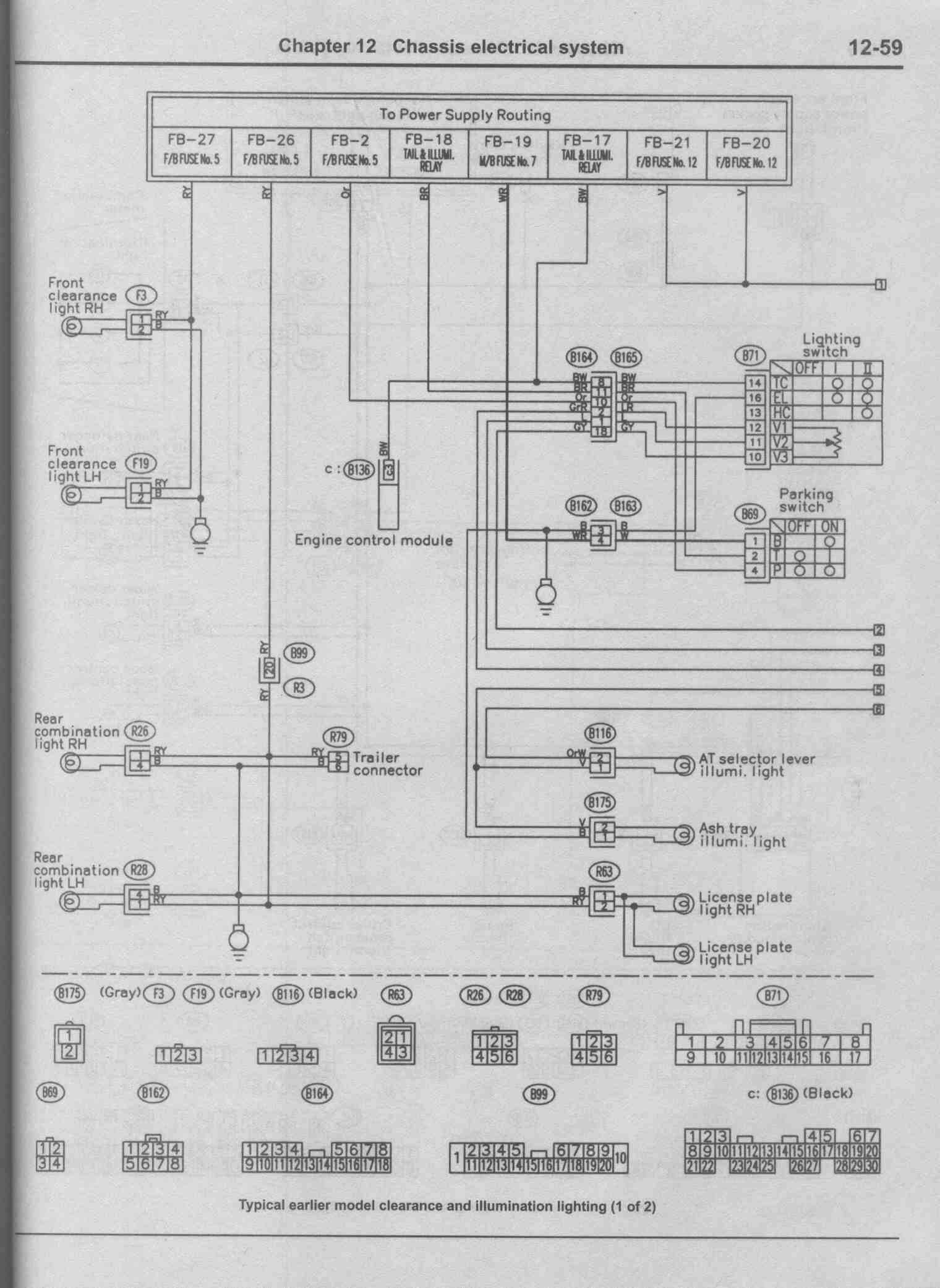 Subaru Wiring Schematic Layout Diagrams Legacy Window Diagram Need Wire For 2001 Outback Rh Subaruoutback Org 2004 Forester