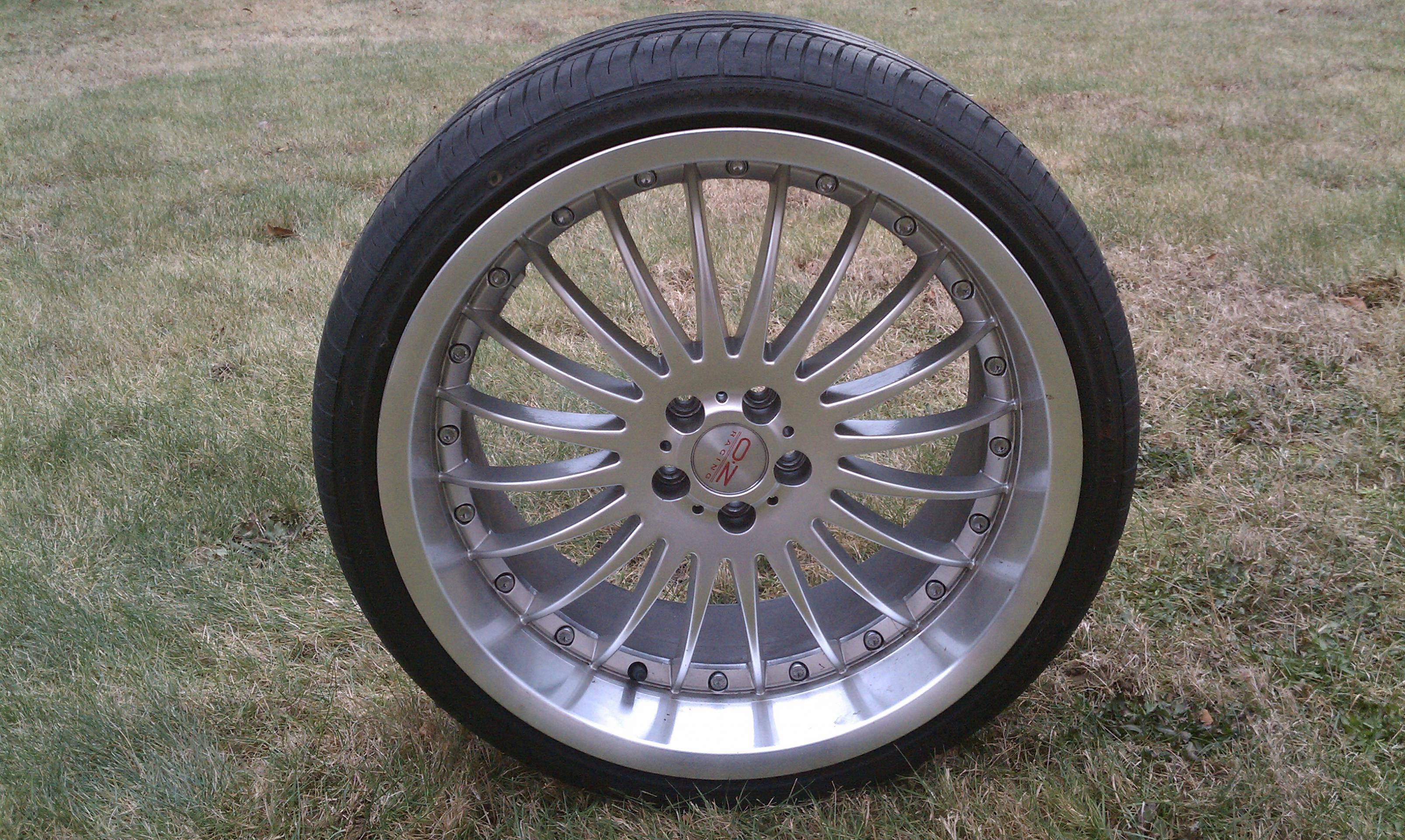 FS: 19x9.5 inch Wheels with 235/35-19 Tires (Taunton, MA ...