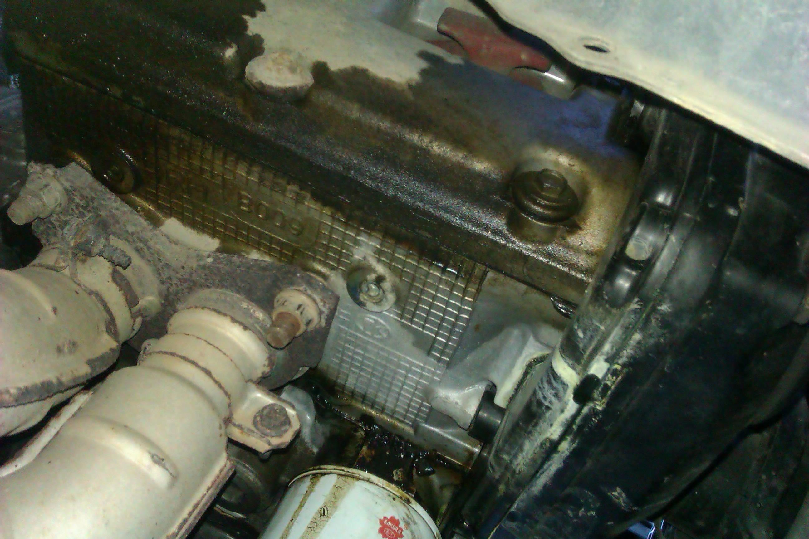 Oil leak photos. - Subaru Outback - Subaru Outback Forums