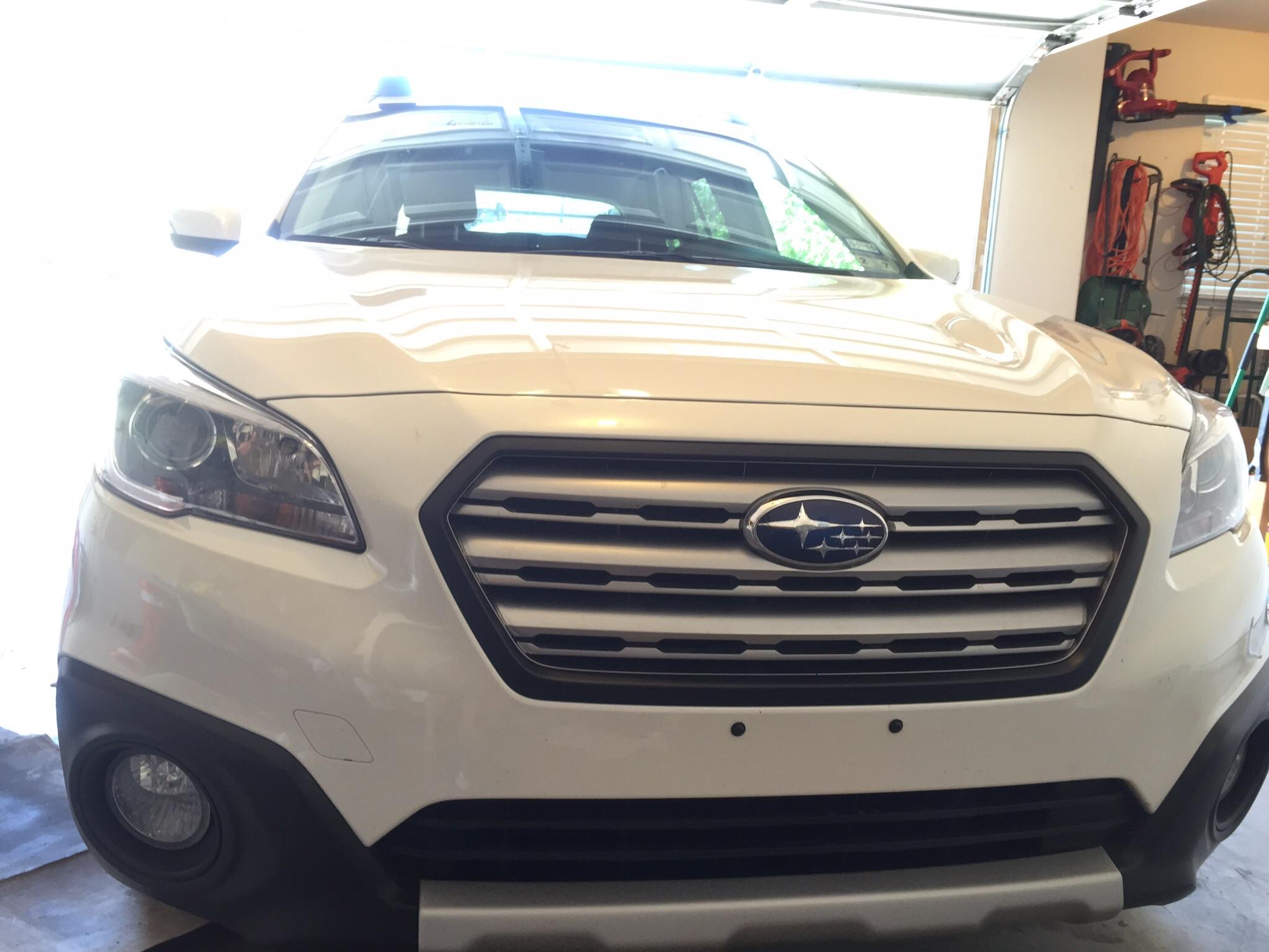 Plasti Dipped Chrome Pics Subaru Outback Subaru