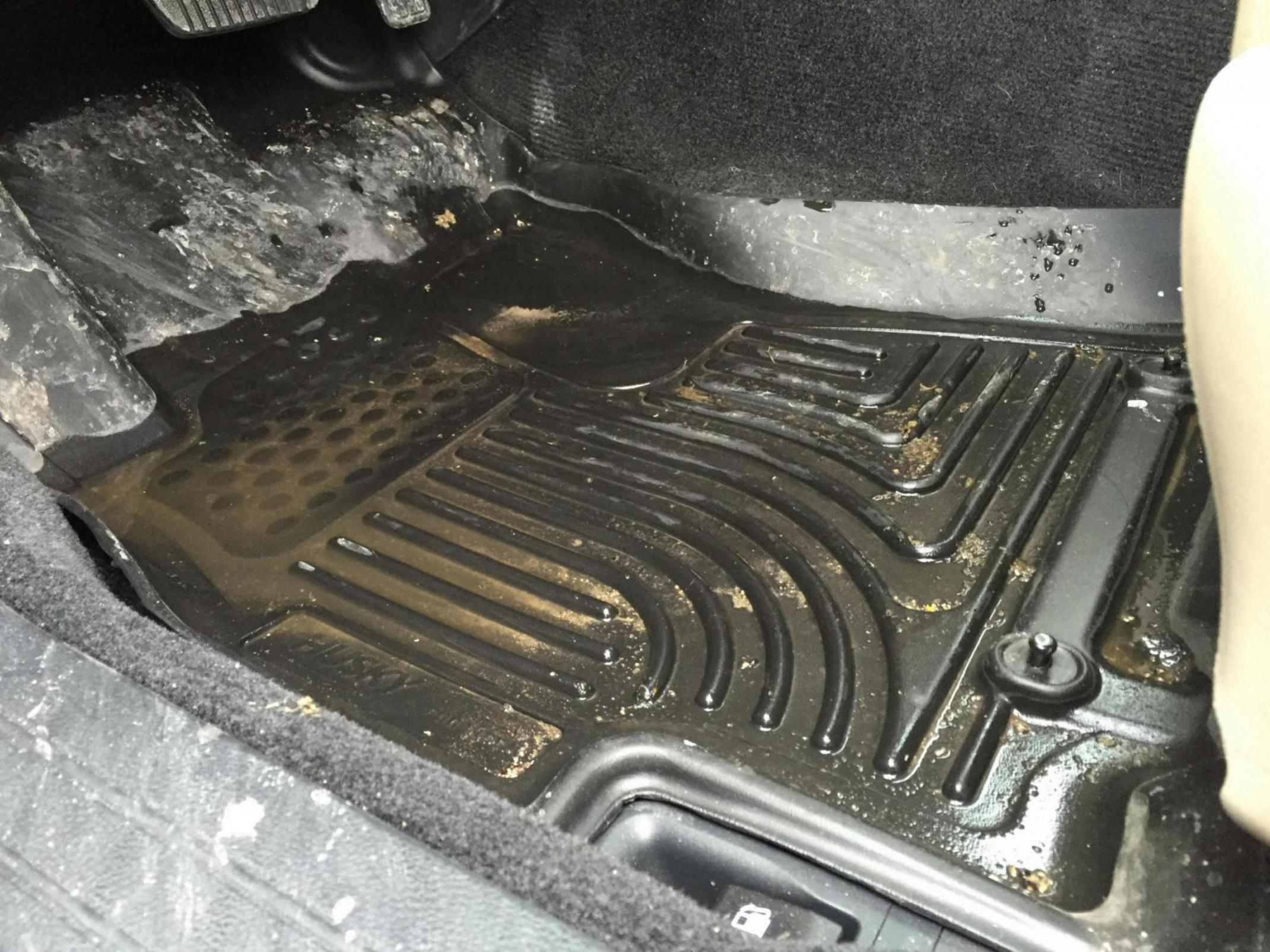 Husky floor liners Feel cheap Subaru Outback Subaru Outback