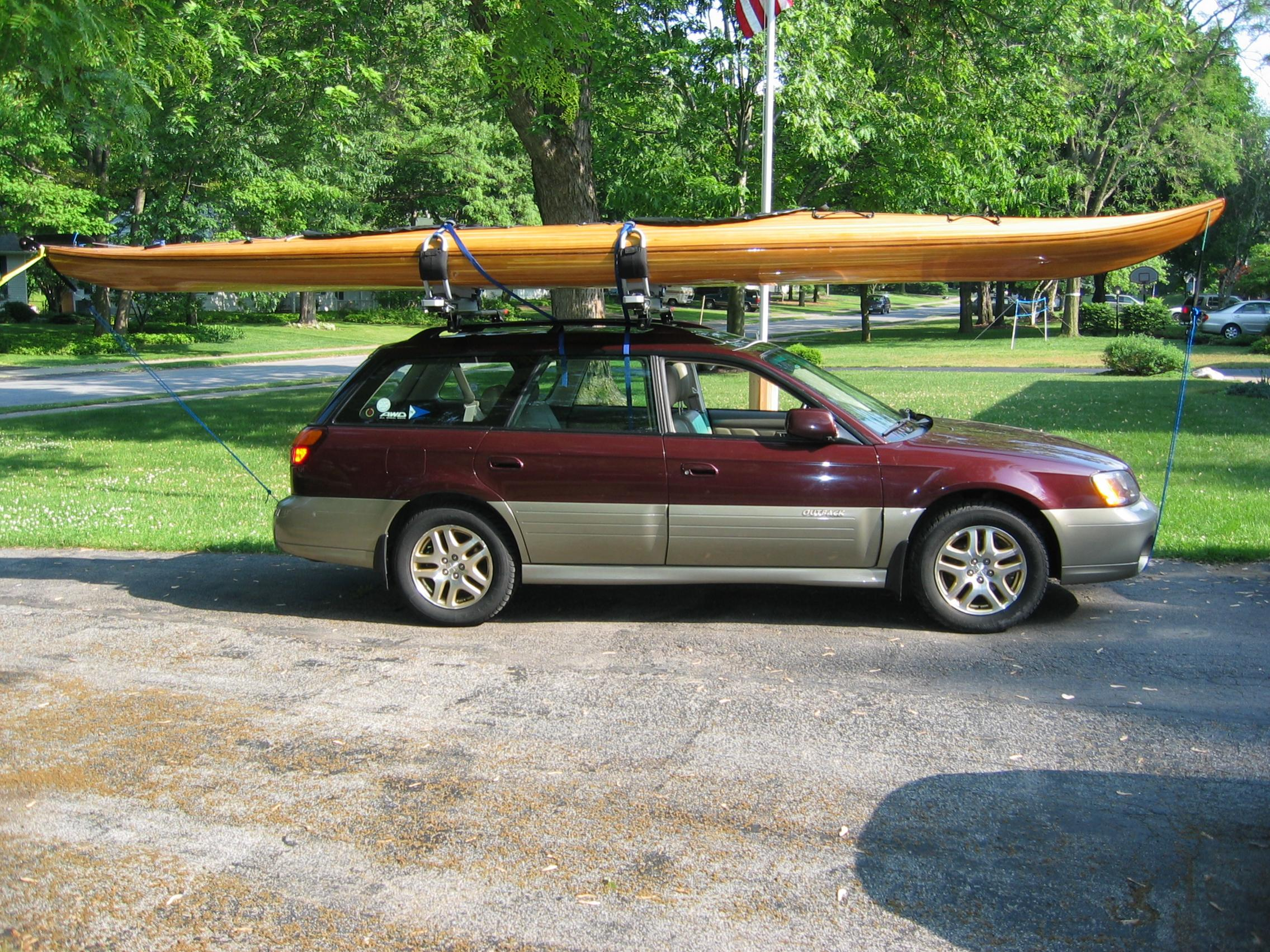 Image For Larger Version Name 0064 Jpg Views 19335 Size 777 3 Roof Rack Ideas Needed Best Kayak Subaru Outback