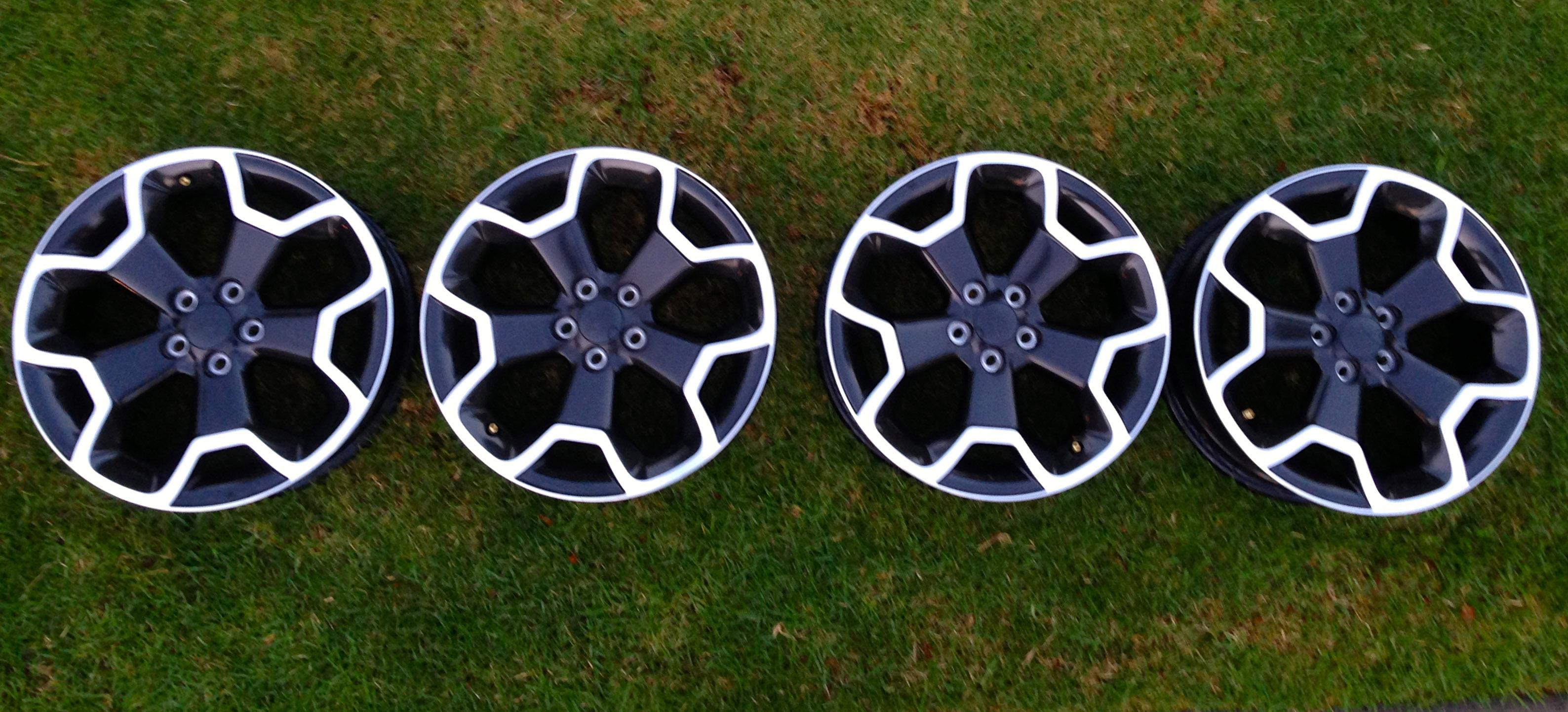 """Weather Car Mats >> 2013 subaru crosstrek xv 17"""" oem factory rims wheels set ..."""