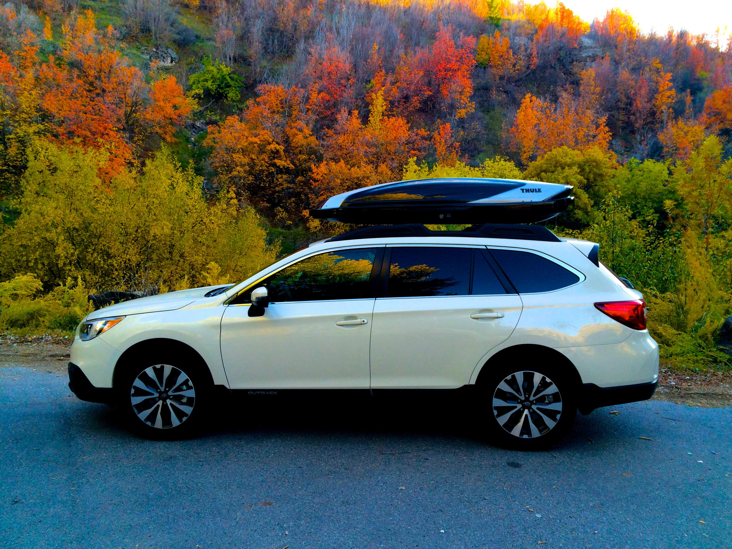 Rooftop cargo box subaru outback subaru outback forums click image for larger version name img0440g views 12724 size 105 vanachro Images
