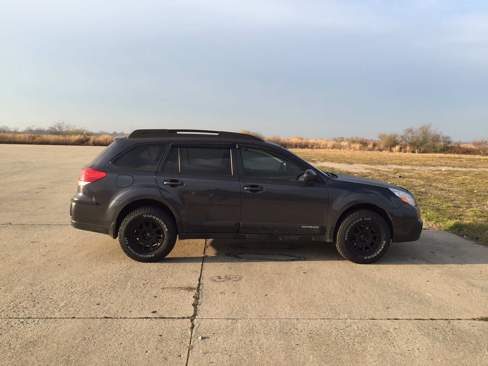 my new wheels tires setup subaru outback subaru outback forums. Black Bedroom Furniture Sets. Home Design Ideas